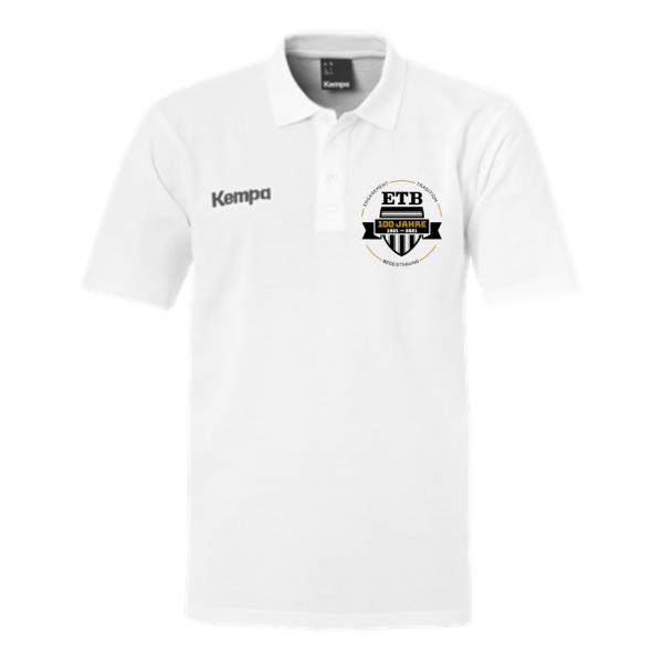 ETB Emotion 2.0 Polo Shirt - white 100 Jahre Sonderedition