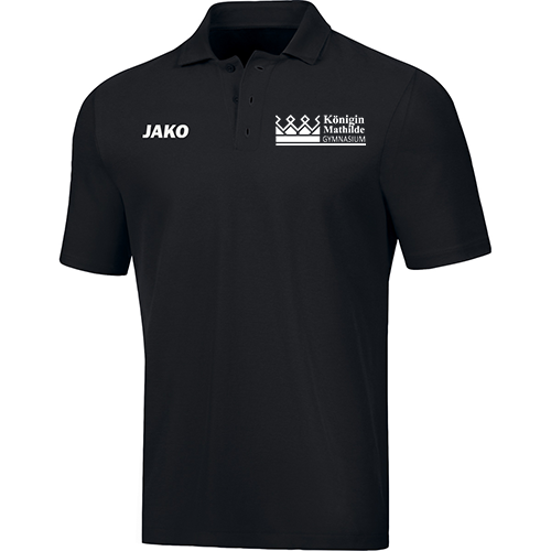 Königin Mathilde Gymnasium Polo Shirt - Logo klein