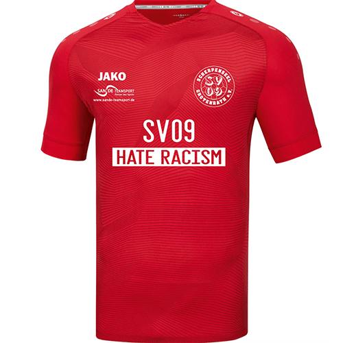 SV 09 Scherpenseel Trikot gegen Rassismus