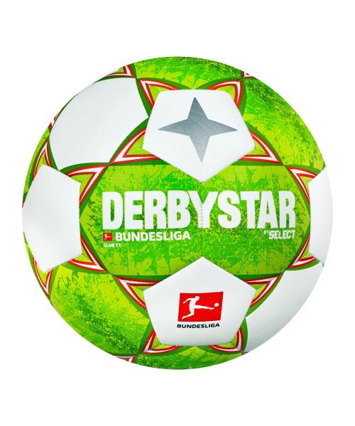 Derbystar Bundesliga Club TT v21 Trainingsball Grün Orange F021